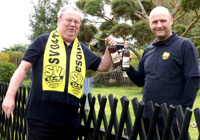 """Uli & Steffen: """"Unterstützt unseren Verein!"""""""